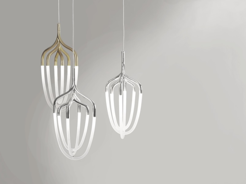 Hadron Lighting By Bodo Sperlein & Tane - Belle December January 2015-16 | designlibrary.com.au