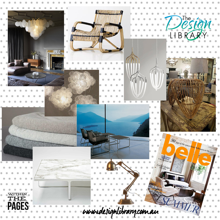 The Design Library Edit - Belle Magazine December 2015 January 2016