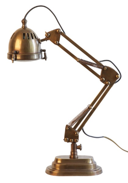 Weylandts - Jaguar Adjustable Desk Lamp - Belle December January 2015-16 | designlibrary.com.au