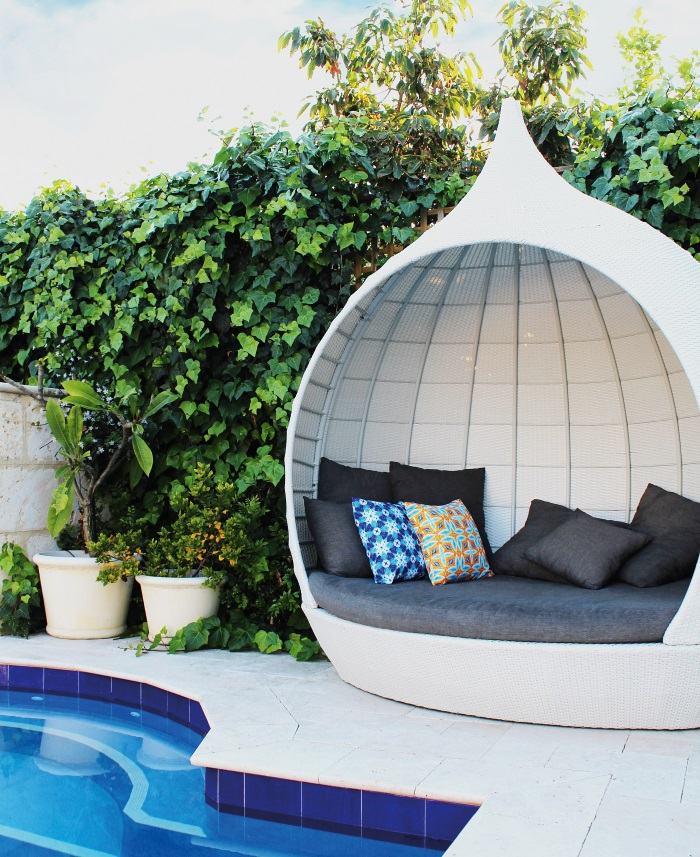 Moteef Outdoor Cushion Mono Range - Melissa | designlibrary.com.au