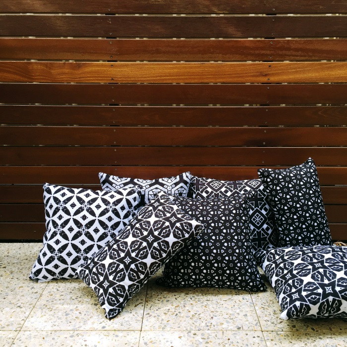 Moteef Outdoor Cushion Mono Range - designlibrary.com.au