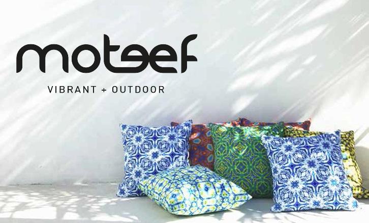 Moteef Outdoor Cushions - designlibrary.com.au