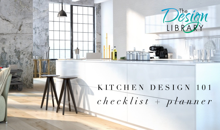 Kitchen renovation checklist designing your dream kitchen for Kitchen design checklist