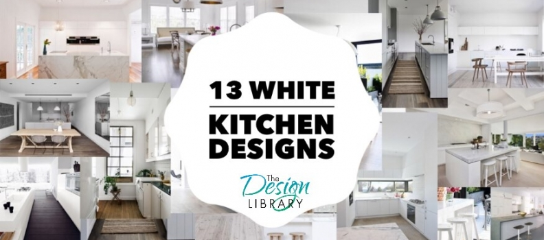 White Kitchen Designs: 13 Inspirations To Consider