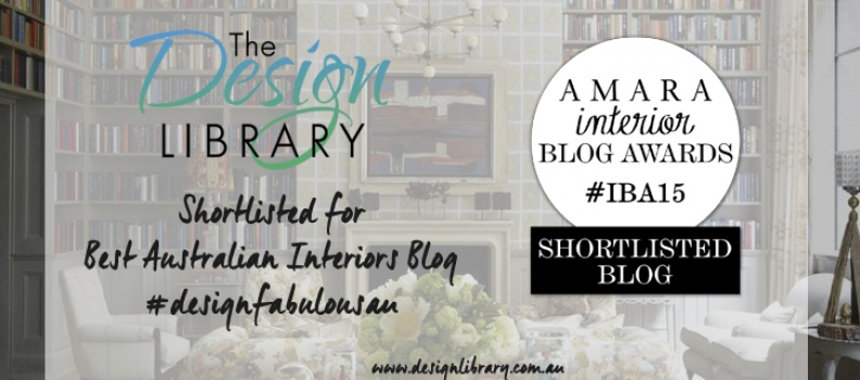 Amara Interior Awards Shortlisted – Best Australian Interiors Blog!