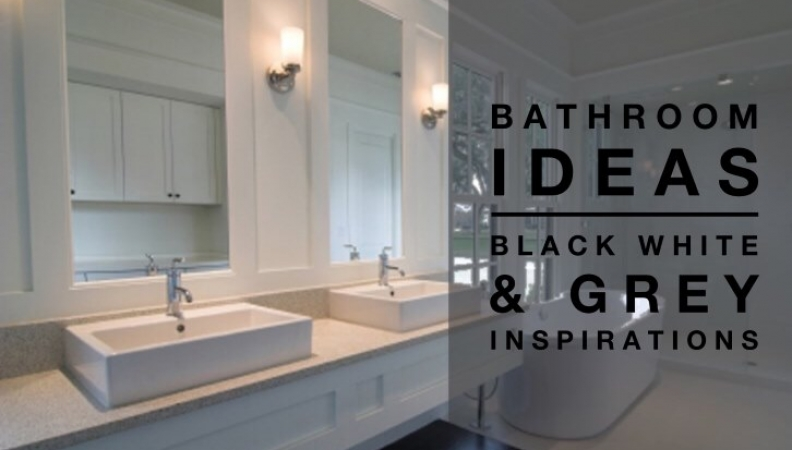 grey bathroom ideas. Bathroom Ideas  Black White Grey Inspiration Colour Palette