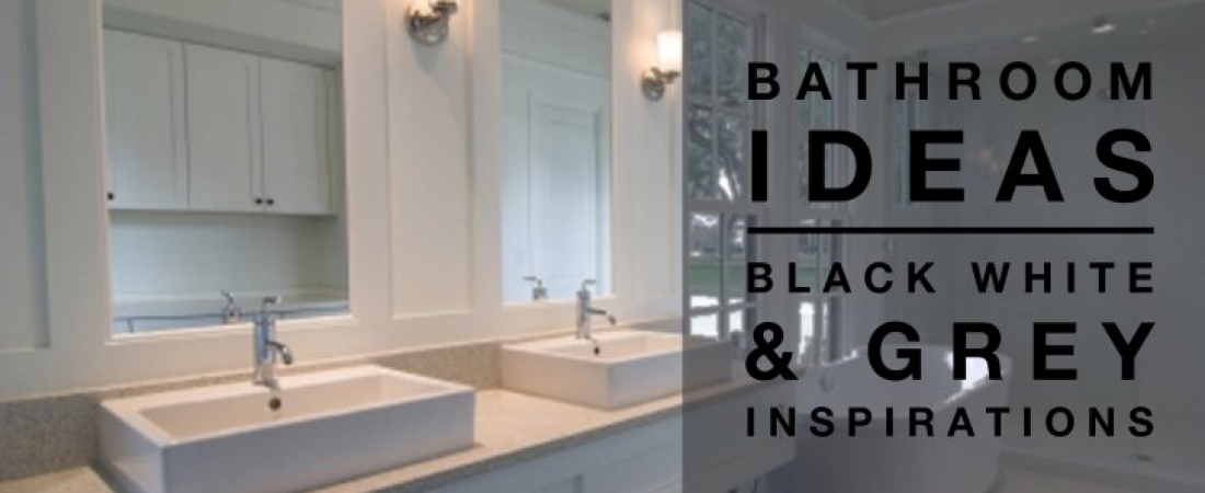 bathroom ideas black white amp grey colour palette grey and white panelled bathroom bathroom decorating ideal home