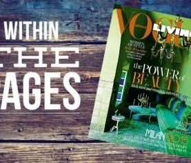 Interior Design Magazines: Vogue Living July / August 2015
