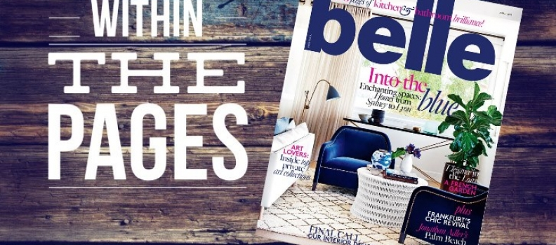 Within The Pages: Belle Magazine April 2015