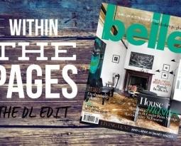 The DL Edit – Interior Design Magazines:  Belle Magazine August / September 2015
