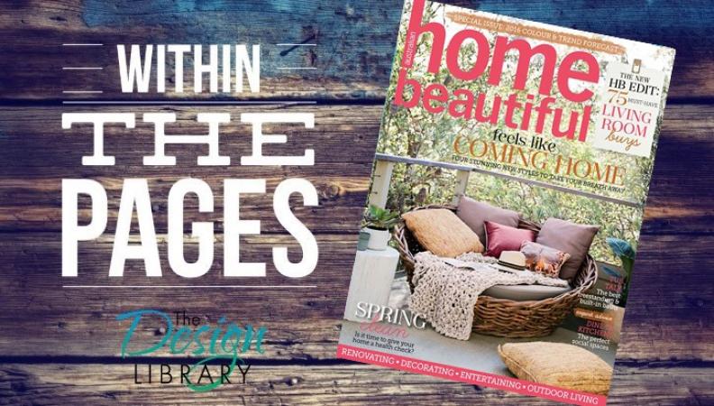 The DL Edit – Interior Design Magazines:  Home Beautiful October 2015