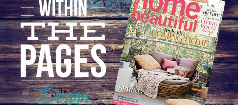 The DL Edit – Interior Design Magazines:  Home Beautiful October 2015