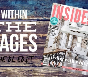 The DL Edit – Interior Design Magazines:  Inside Out Magazine August 2015