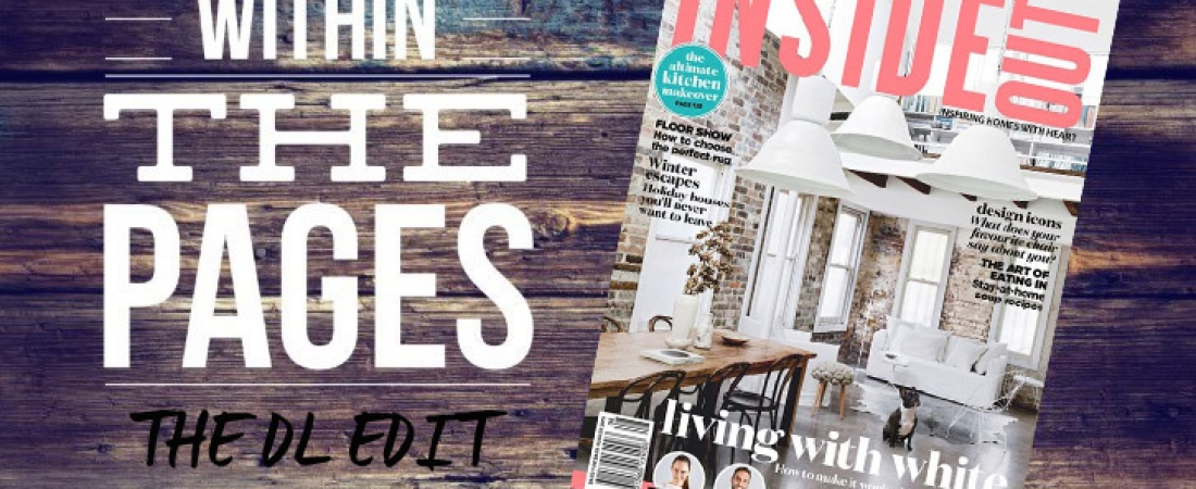 The DL Edit Interior Design Magazines Inside Out Magazine August 2015