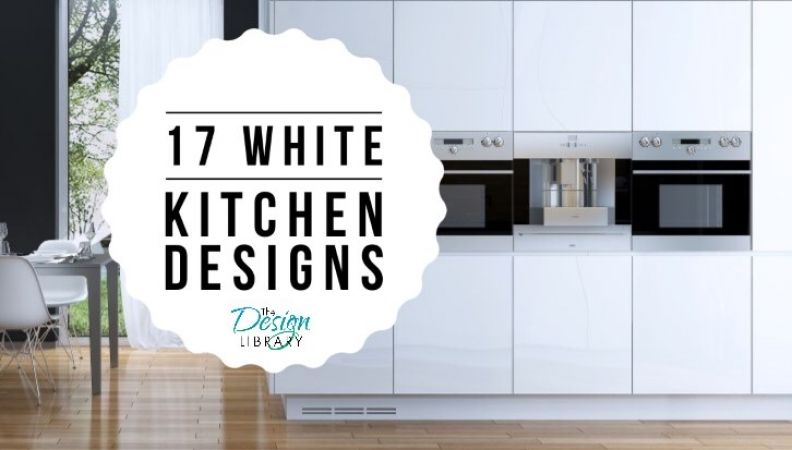 17 White Kitchen Designs Inspirations