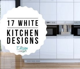 White Kitchen Designs: 17 Inspirations