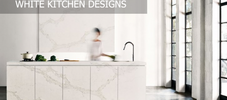 White Kitchen Designs – A Classic Choice To Last